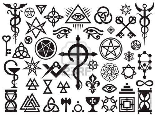 Ancient Secret Symbols Language Of Holy Symbols Like Ancient