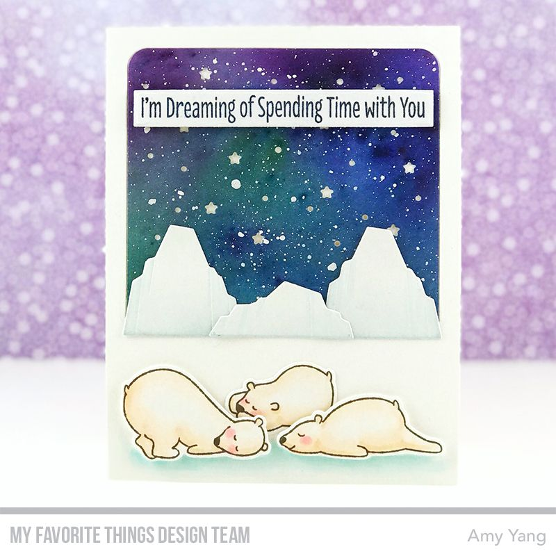 Mft Starry Night Release Day Starry Night Scene Cards Winter Cards