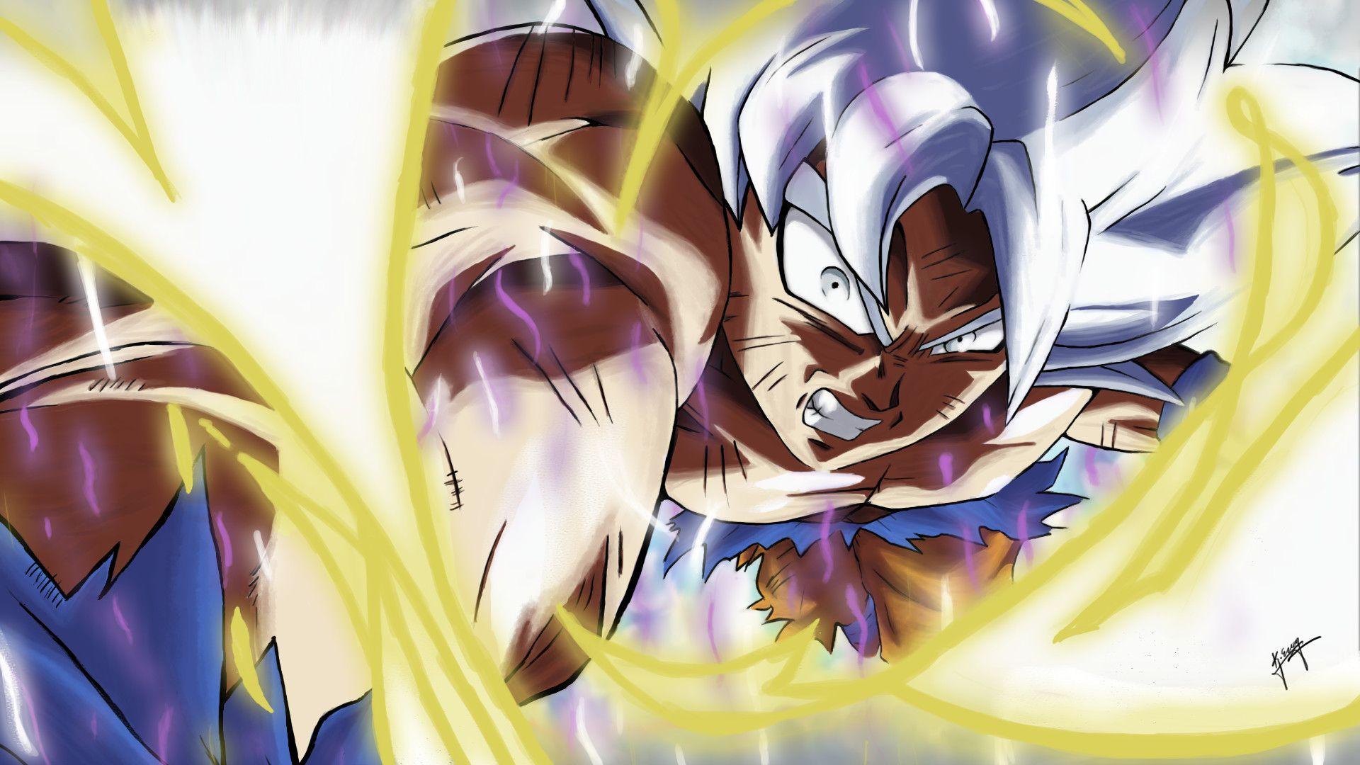 Goku Mastered Ultra Instinct Dragon Ball Super Goku Dragon Ball Dragon Ball Goku