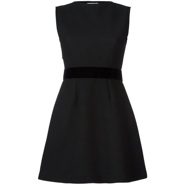 P.A.R.O.S.H. 'Ryan' dress ($269) ❤ liked on Polyvore featuring dresses and black