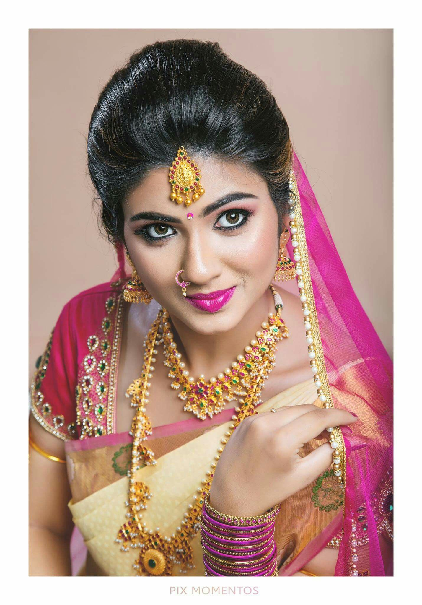 Bengali bridal gold jewellery - Bridal Jewellery Gold Jewellery Bridal Makeup Bridal Beauty Bengali Bride Beautiful Smile Nose Rings Golden Girls Indian Beauty