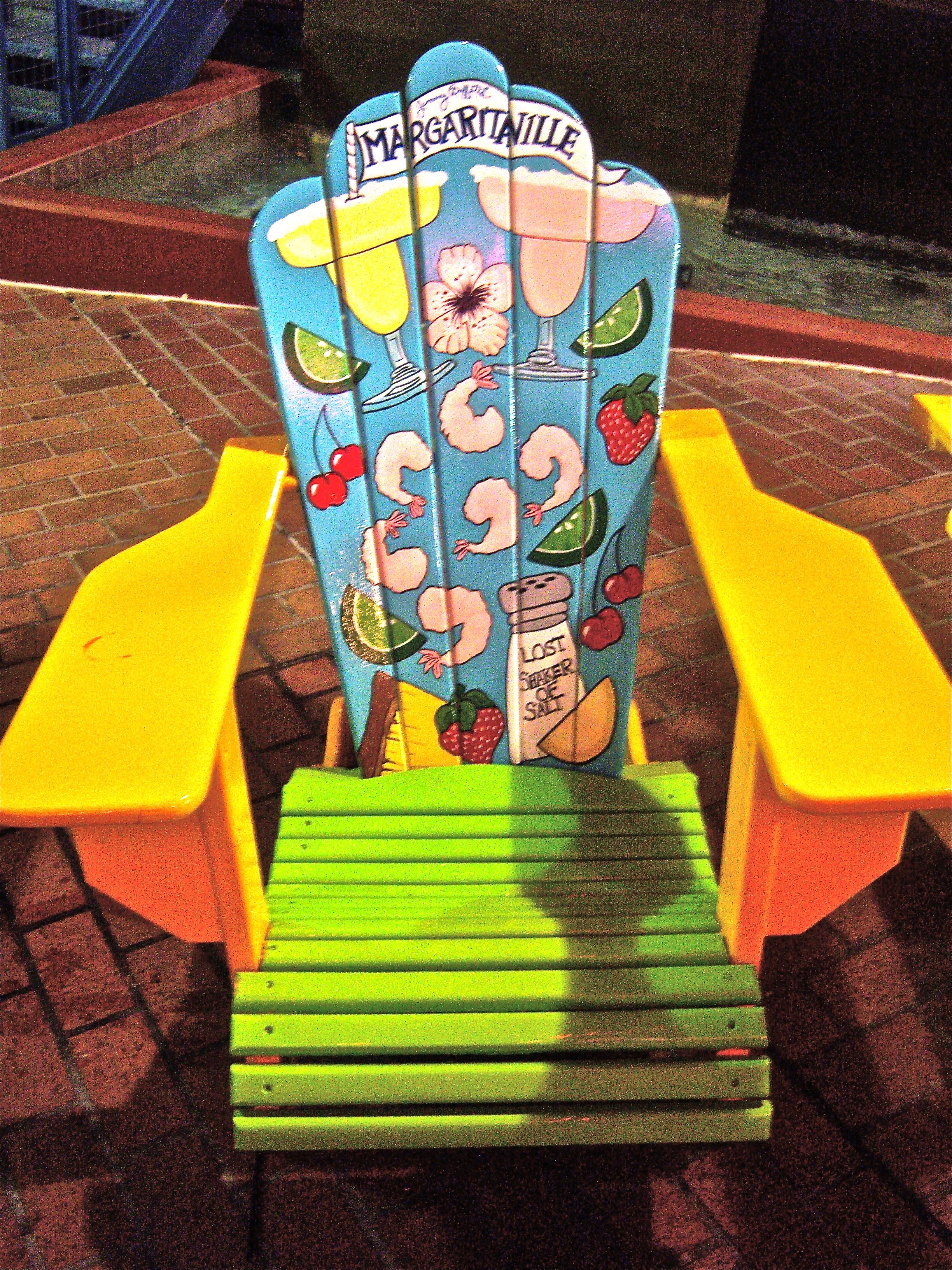 Margaritaville Adirondack Chairs Margaritaville Chair It 39s Summertime Painted Outdoor