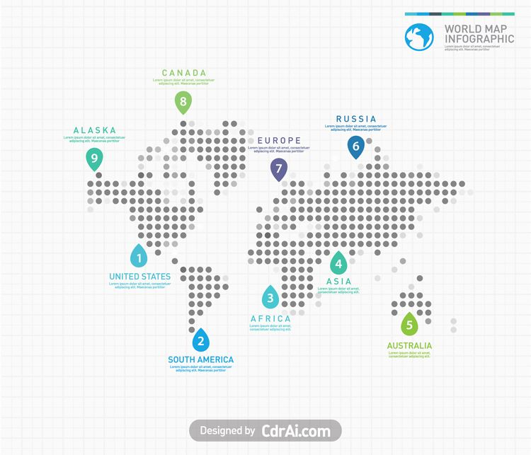 Digital world map infographic graphic pinterest infographic digital world map infographic gumiabroncs Images