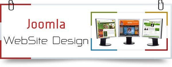 custom joomla template design