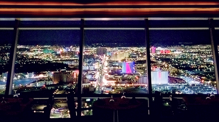 Watching Vegas Come To Life At Sunset Top Of The World Restaurant Stratosphere In Las We Had Whole Place Ourselves