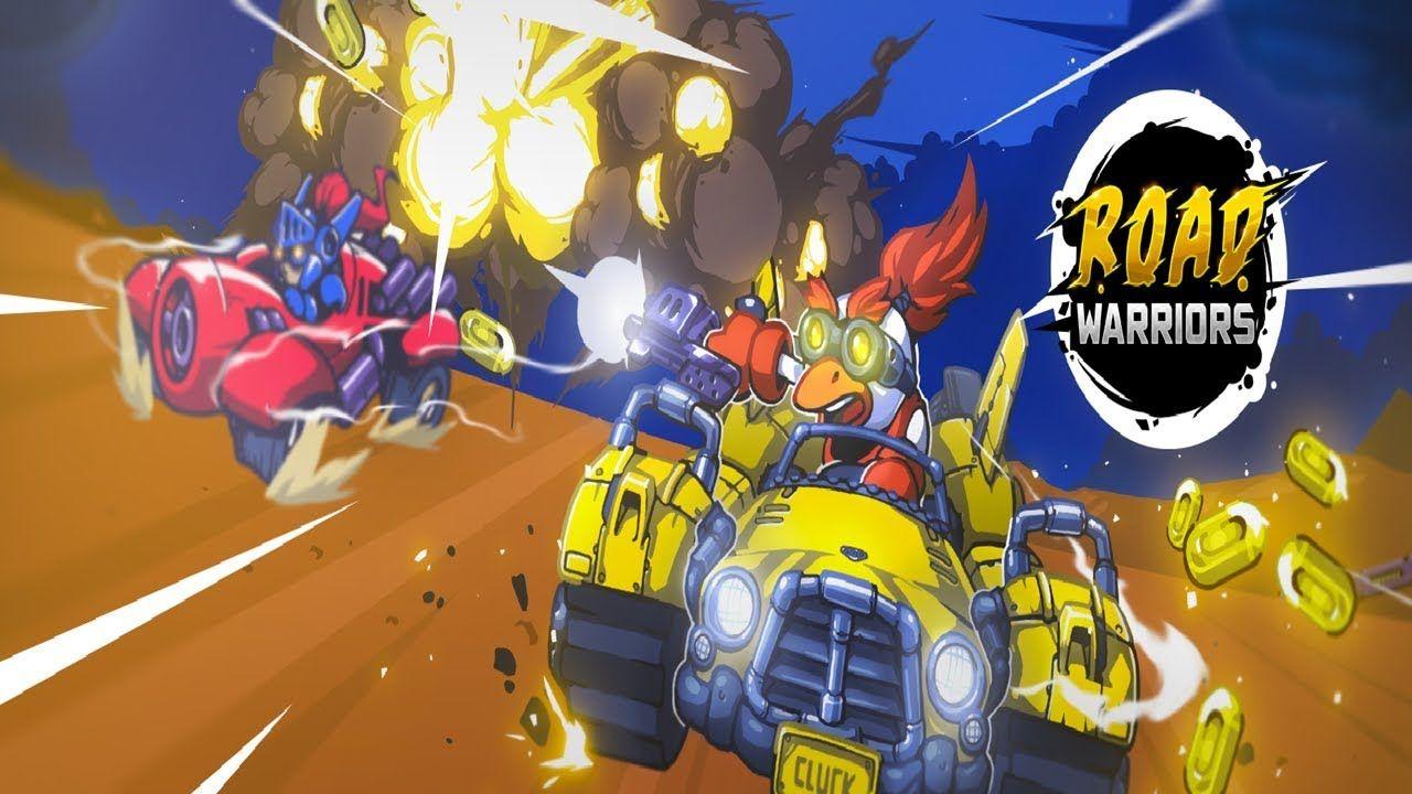 Road Warriors The Most Dangerous Monster Car Racing (iOS