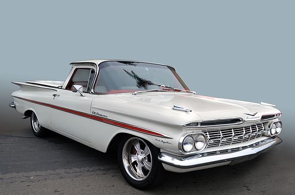 1959 Chevrolet El Camino First Year For Caminos Sports A Fuel