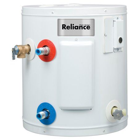 Reliance 10 Gal 1650 Electric Water Heater Walmart Com In 2020 Rv Water Heater Electric Water Heater Hot Water Heater
