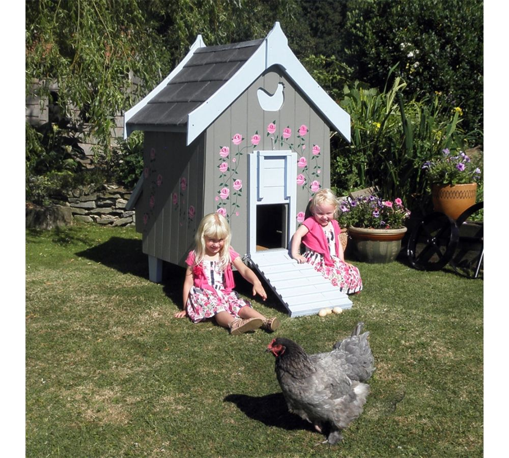 Painted Chicken Houses Google Search Chickens Backyard Chicken House Chicken Coops Uk