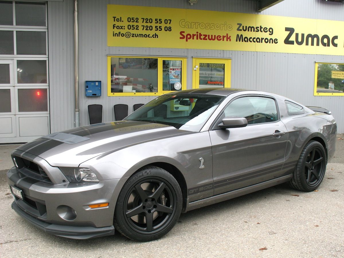 Our friends in switzerland at zumac ag carrosserie spritzwerk tuning design fit this 2014 shelby ford mustang shelby gt5002014