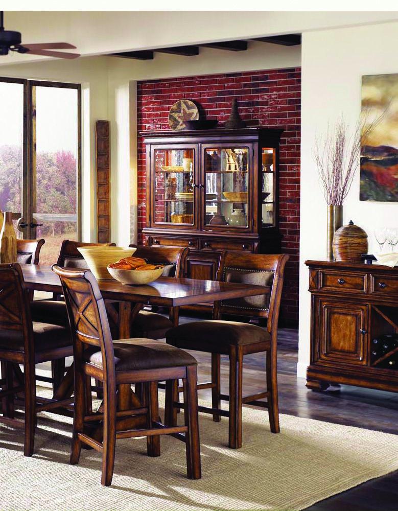 Counterheight Seating In A Warm Maple Finish Www Awfurniture And W Furniture Redwood Falls Mn