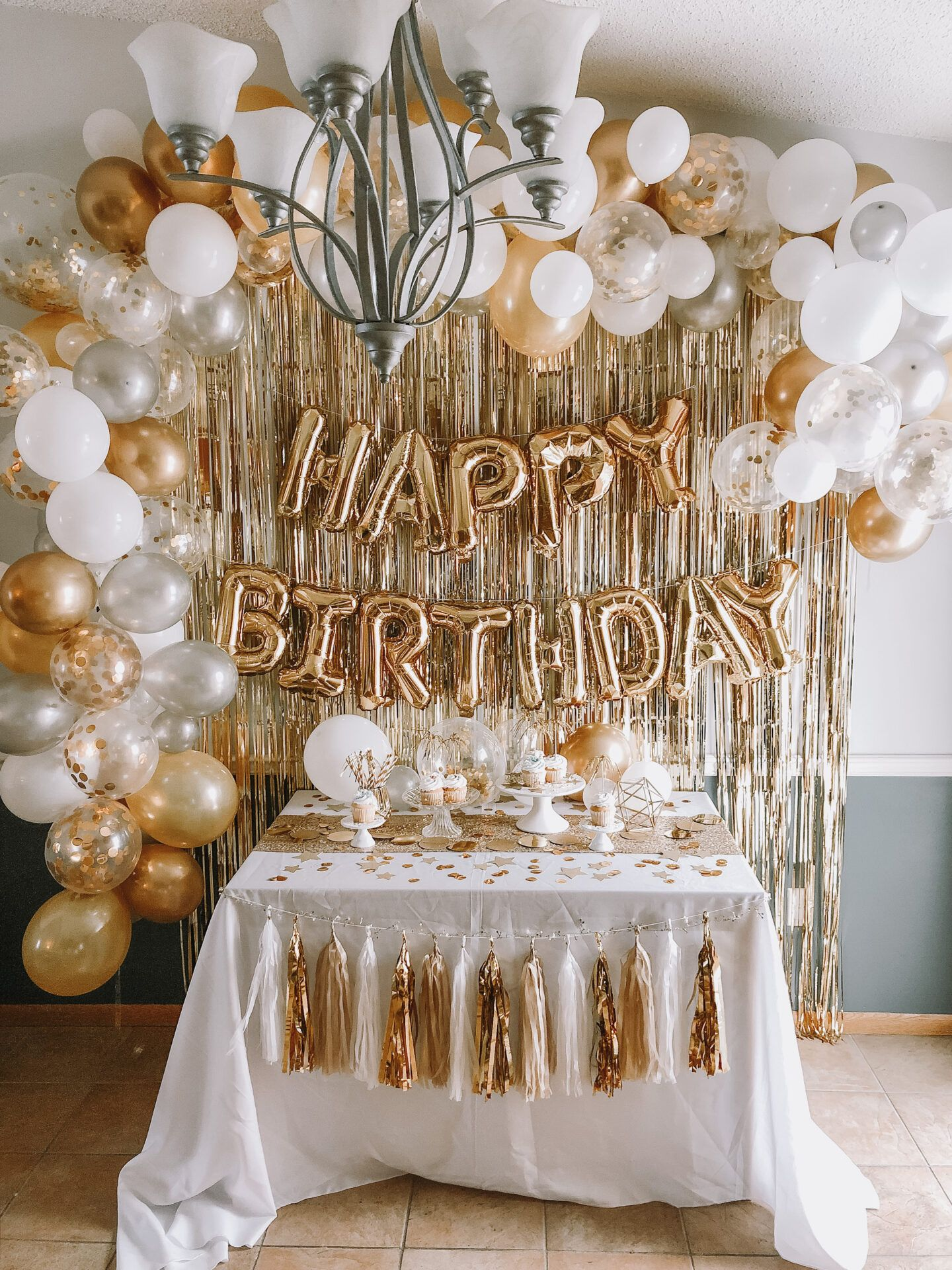 You Are Gold Baby Solid Gold Kingston S 10th Birthday Peach Goldie In 2020 Gold Birthday Party Decorations Gold Theme Birthday Party 18th Birthday Decorations