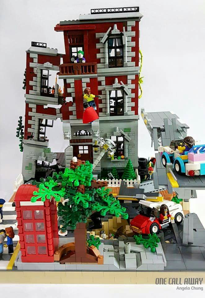 Pin Od Cubex Na Lego Lego Lego Modular I Lego Creations