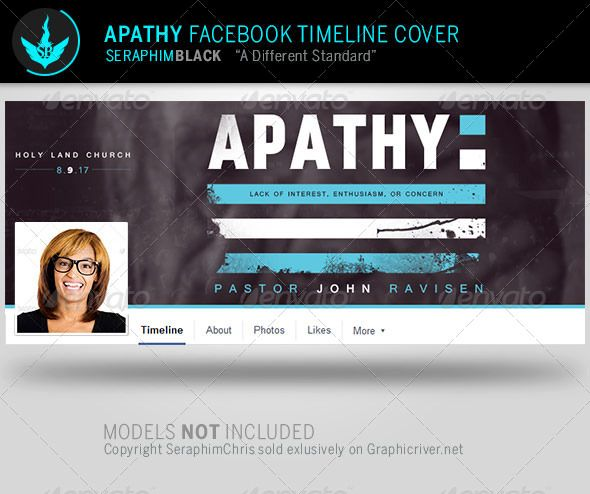 Apathy Facebook Timeline Cover Template Cover template - advertising timeline template