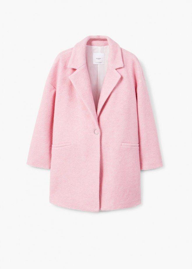 Manteau rose hiver 2018