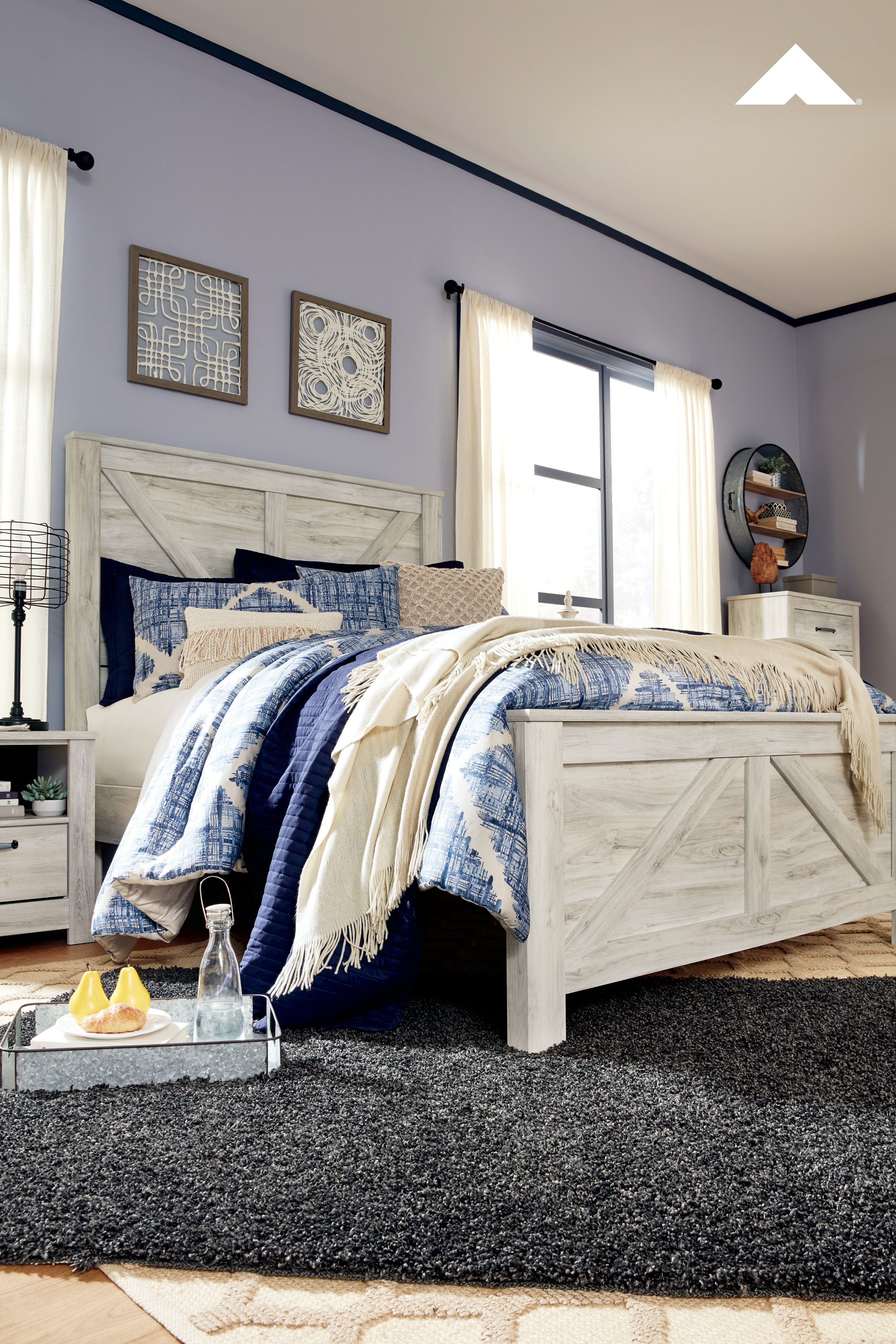 Bellaby Whitewash Bedroom Set Your bedroom isn't just a