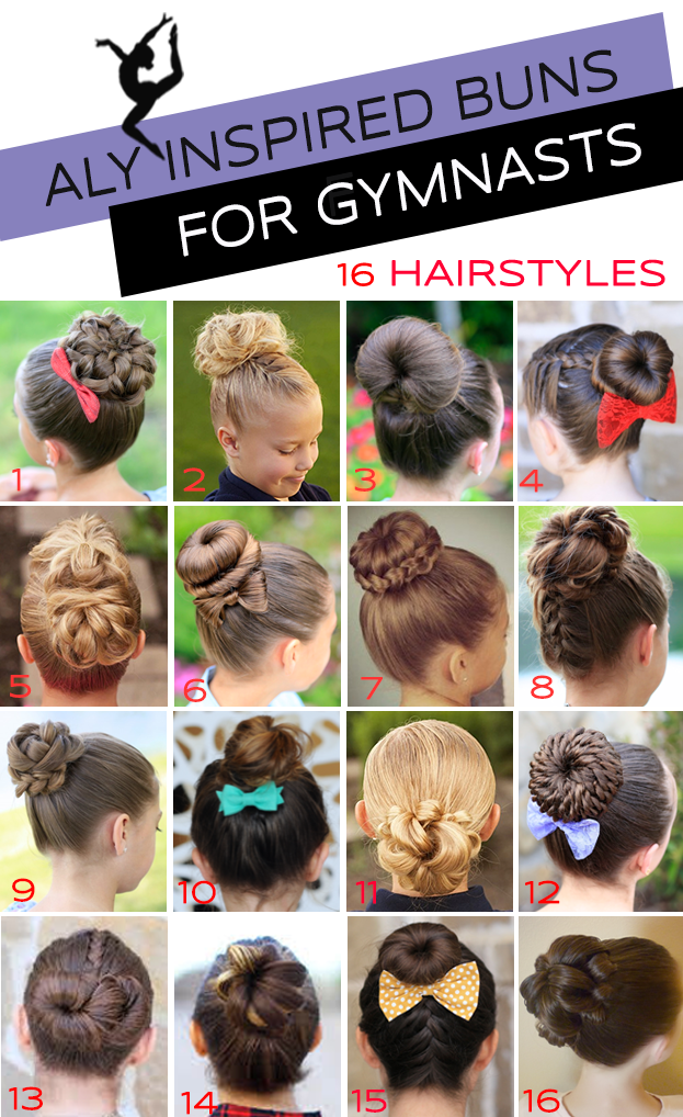 Gymnastics Hairstyles For Competition Bun Edition Gymnastics Hair Dance Hairstyles Gymnastics Meet Hair