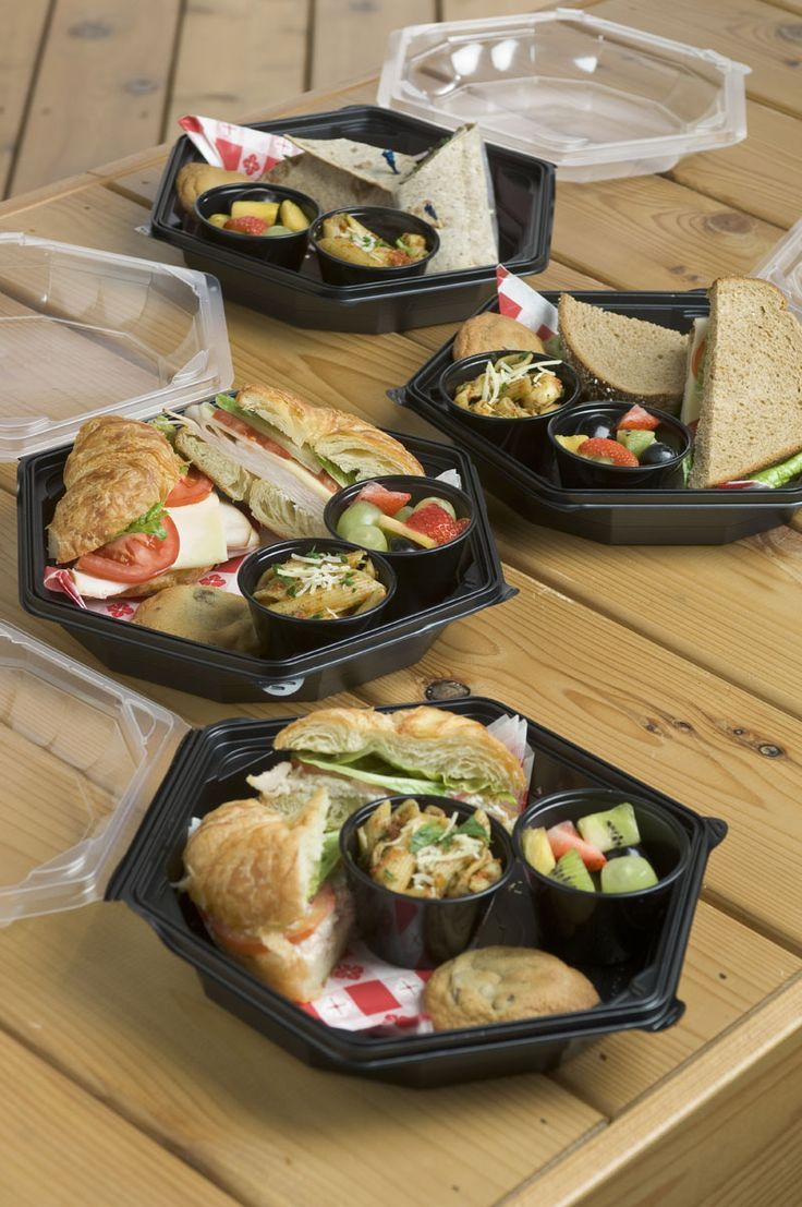 Gourmet boxed lunches cafe food lunch catering picnic food
