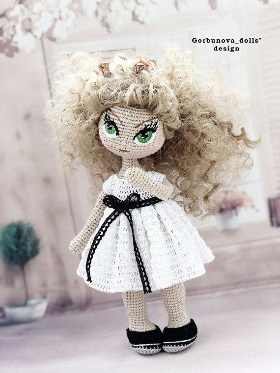 BELLA doll pattern, Crochet doll pattern, amigurumi doll pattern ...