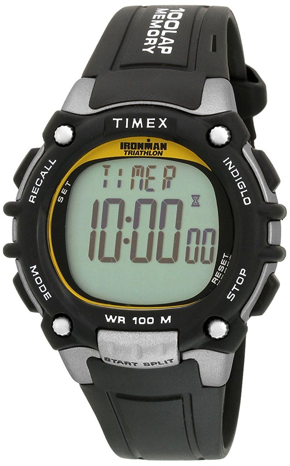 2b446e37e68e Buy Timex Ironman 100 Lap Sports   Fitness Watch Unisex - NA33 Online at  Low Prices in India - Amazon.in timex watches