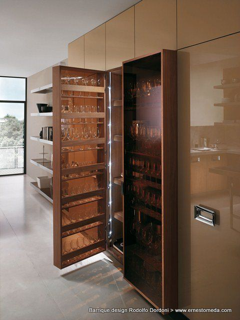 Barrique design Rodolfo Dordoni kitchen - heart of the home - ernestomeda barrique