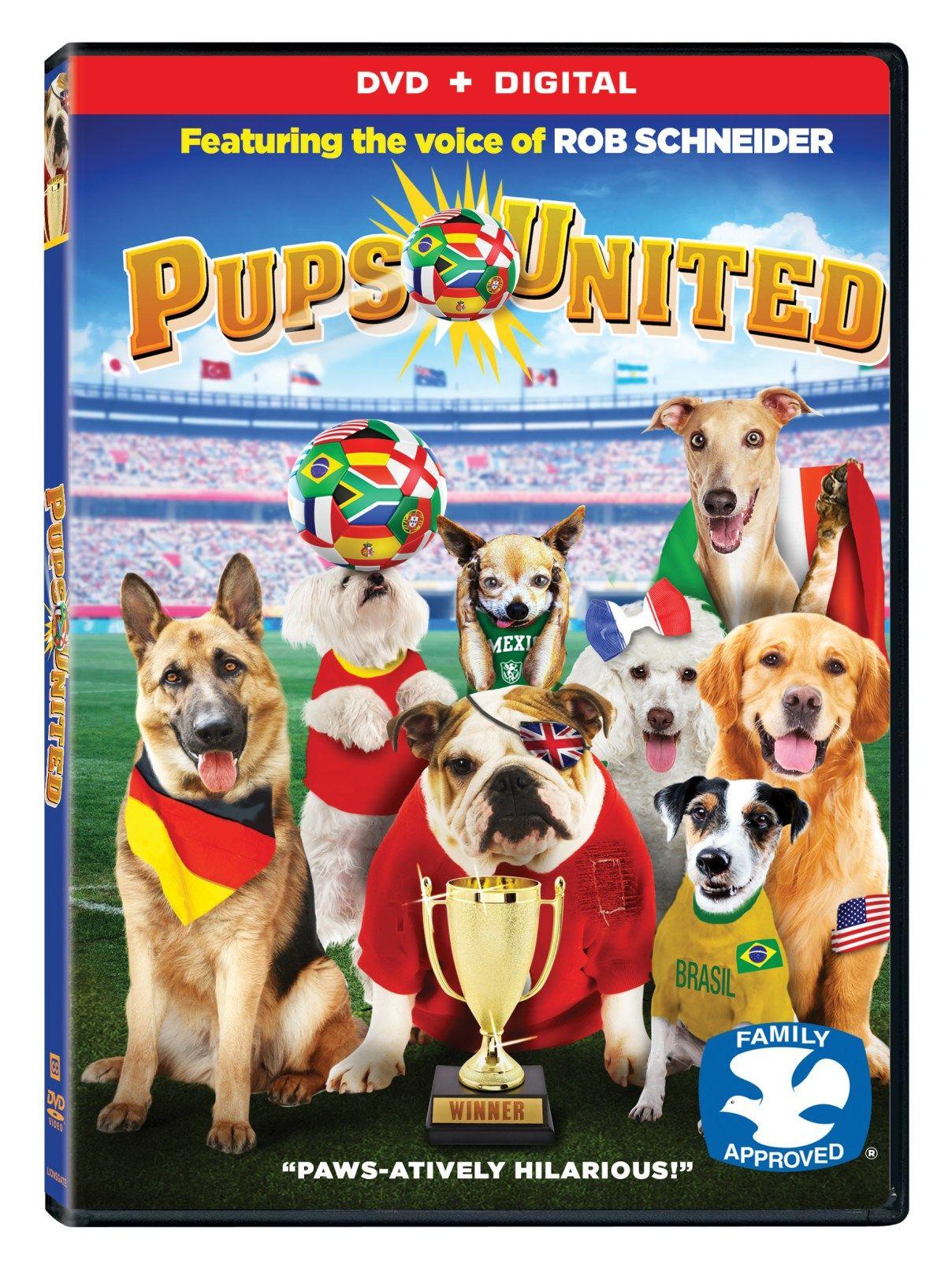 Pups United Dog movies, Pup, Dog trailer