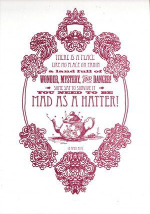 Alice In Wonderland Mad Tea Party Quotes Alice In Wonderland