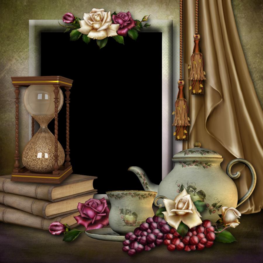 Tea Frame 2 by collect-and-creat.deviantart.com on @DeviantArt ...