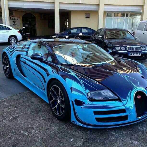 Bugatti Veyron W/Custom Paint Job~