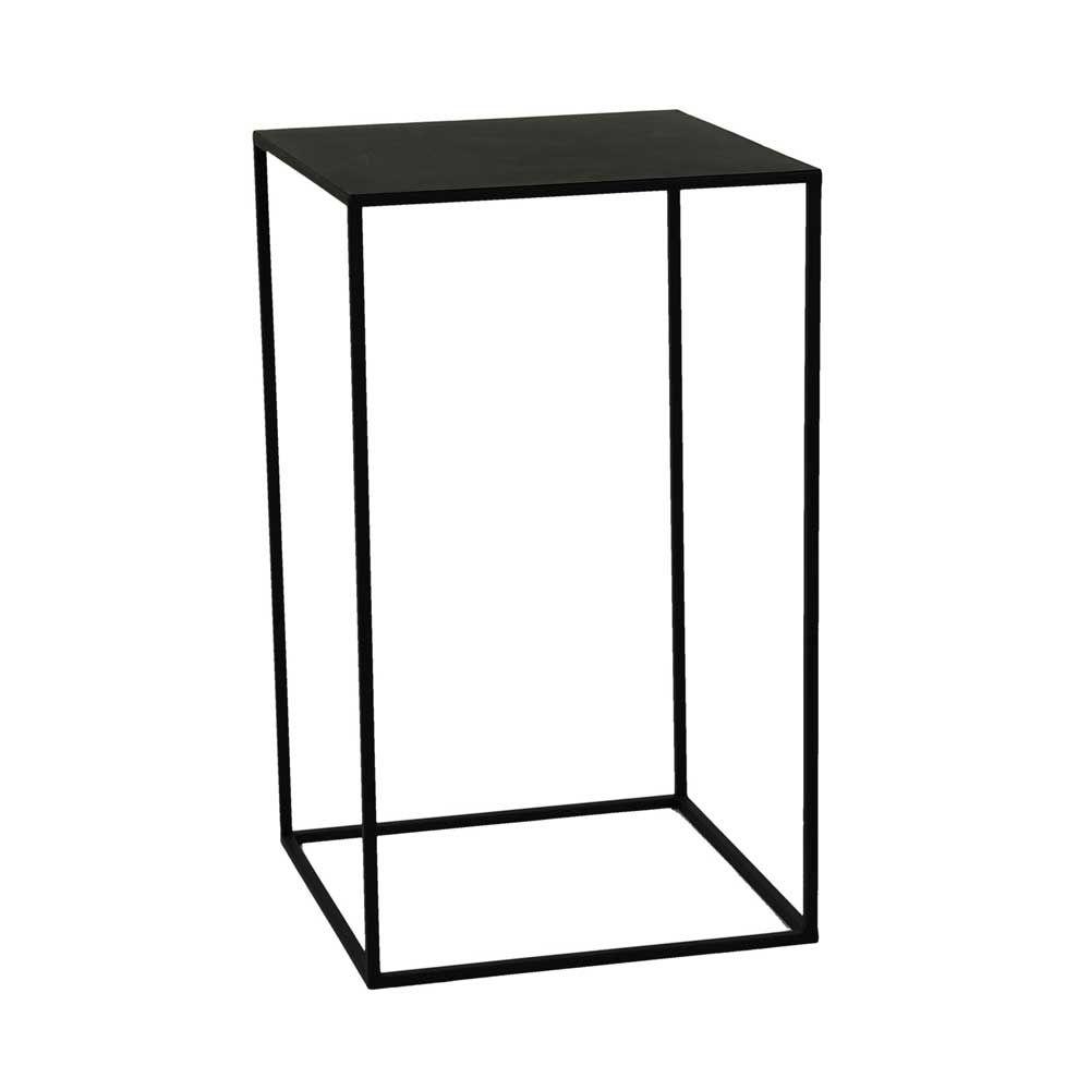 Beistelltisch Zara Eisen Schwarz Beistelltisch Design Beistelltisch Beistelltisch Schwarz