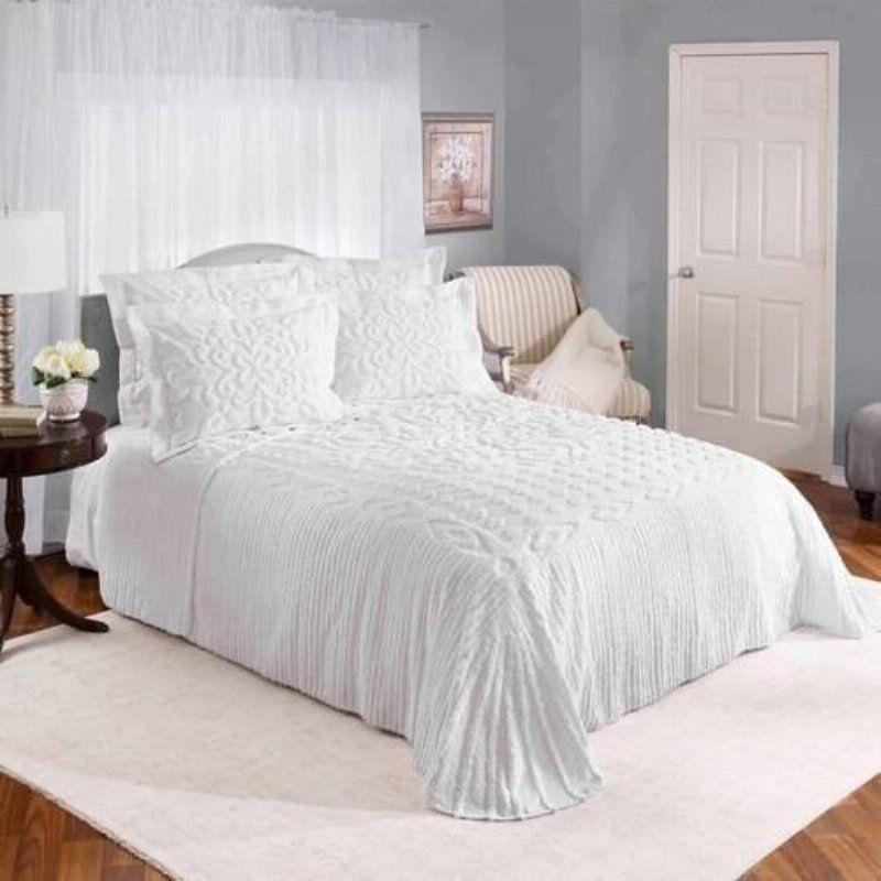 f791c6b8bb Silvia Chenille Bedspread by Renaissance Home Fashion -  FC7E25E3219240748069F14B8C9C55CE