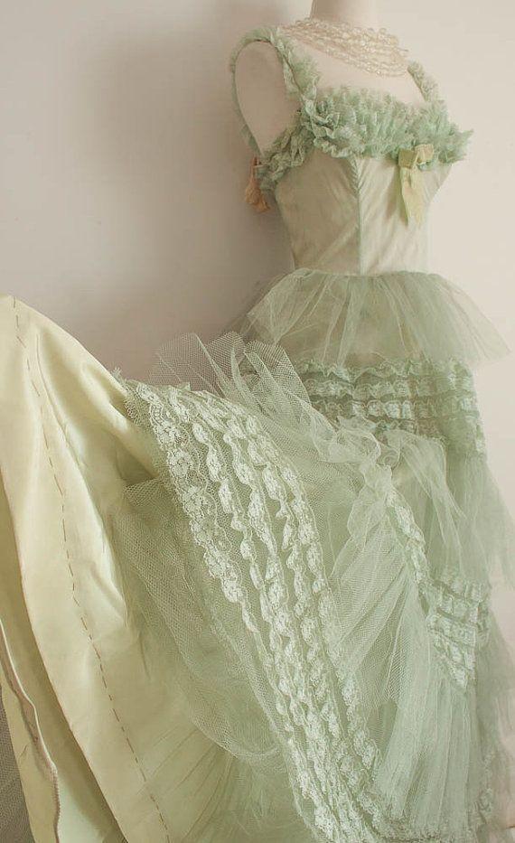 prom dress 1950s | Vintage & Feminine | Pinterest | 1950s, 1950s ...