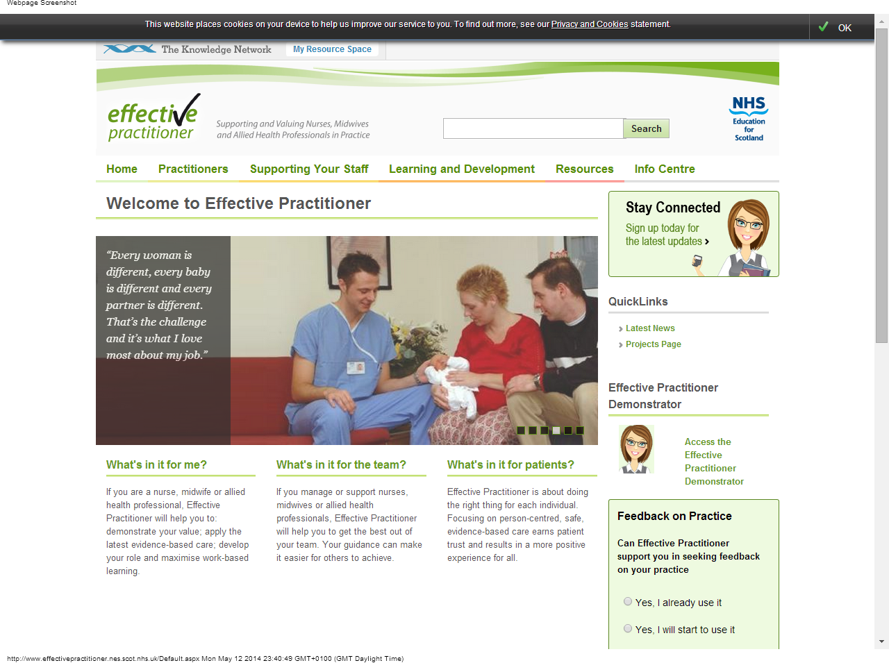 Effective Practitioner Website Nes Will Help You To Demonstrate Your Value Apply The Latest Evidence Based Care Develo Practitioner Learning How To Apply