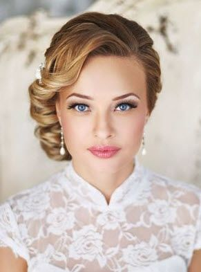 Top Wedding Hair Makeup Ideas From Pinterest HansonElliscom