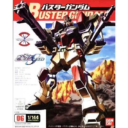 Bandai 1/144 Scale * Mobile Suit Gundam SEED *  Buster Gundam #Bandai