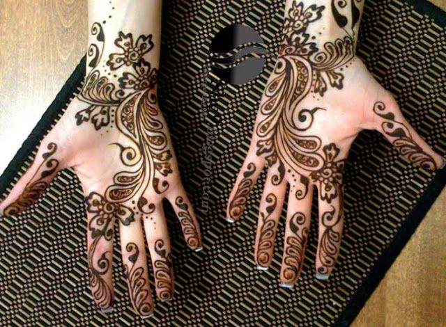 Mehndi Designs Hands Photo Gallery : This is the image gallery of latest arabic mehndi designs for