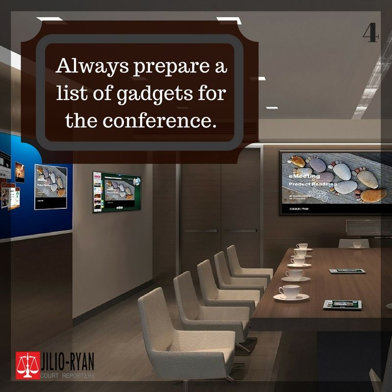 Tips 4 Always Check The Gadgets You Need In A Conference Room