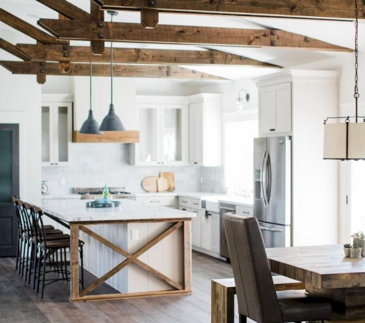 40 Best Farmhouse Kitchen Island Decor Ideas On A Budget Page 21