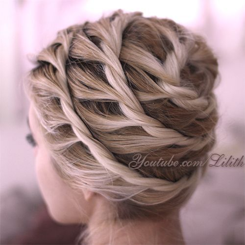 Fantastic Updos For Medium Hair Spiral Hair Style Girl And Updo - Bun hairstyle games