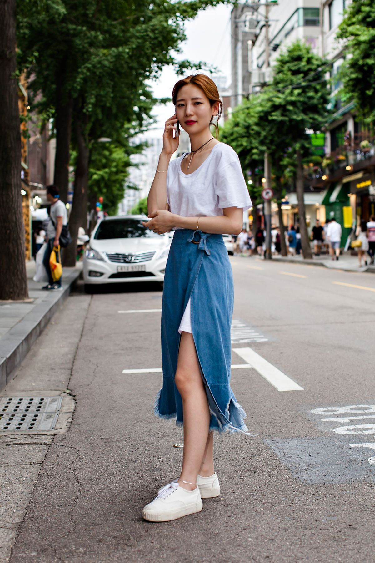 Cho Eunsaem, Seoul  Korean fashion summer, Korean spring fashion