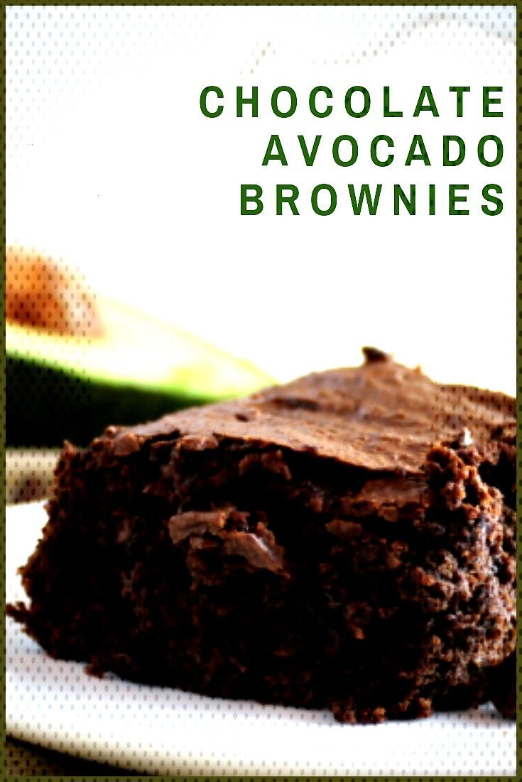 Chocolate Avocado Brownies We ve made a super simple brownie recipe better for you by making them w