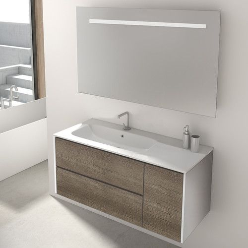 Found it at wayfair co uk mosman 100cm wall mounted vanity unit with