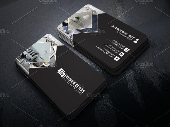 Interior Designer Business Card Interior Designer Business Card Graphic Design Business Card Business Card Design
