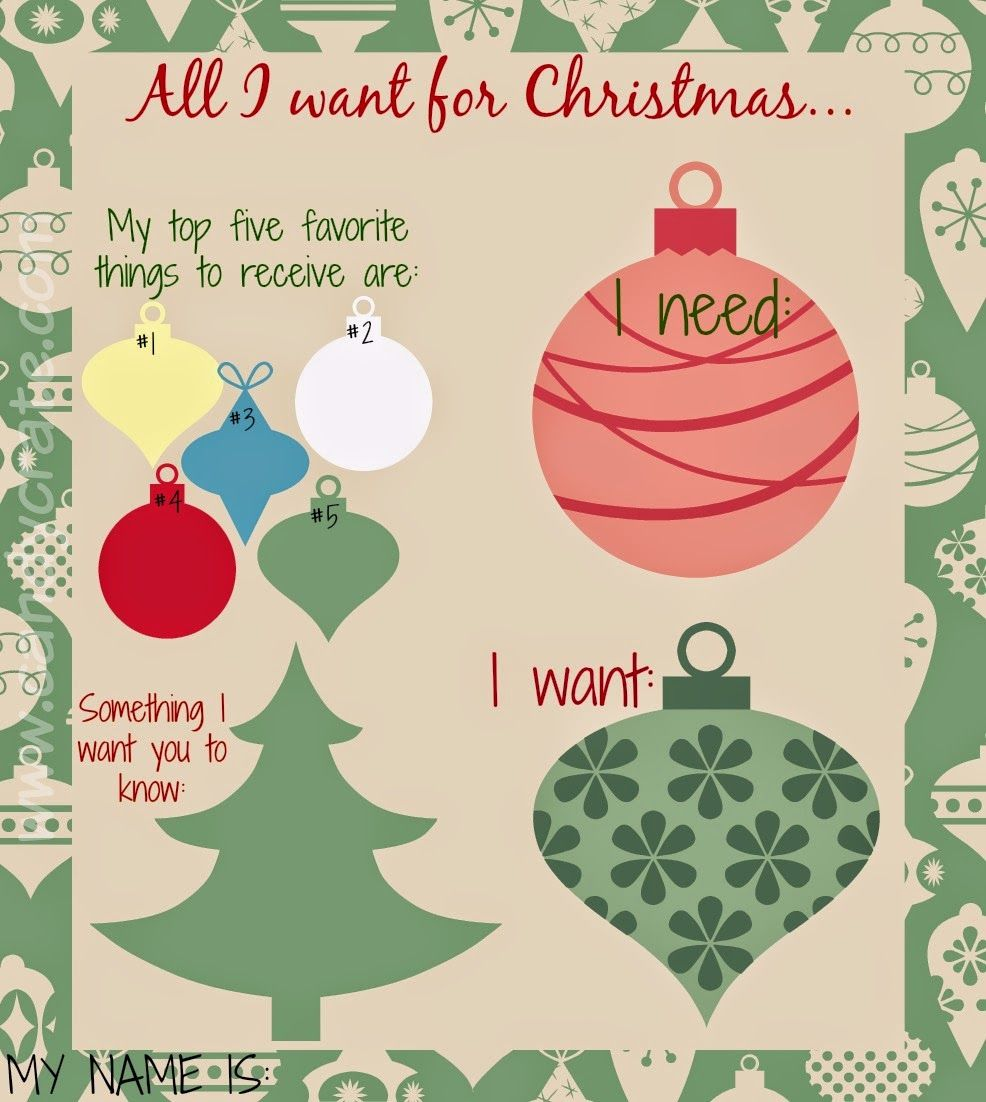 Candy Crate All I Want For Christmas Secret Santa List Secret Santa Teacher Christmas Gifts Secret Santa List
