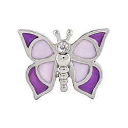 purple butterfly charm by origami owl wwwasaylor