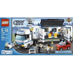 7288 Motorcycle Officer LEGO City MiniFigure Police POLICE on Back
