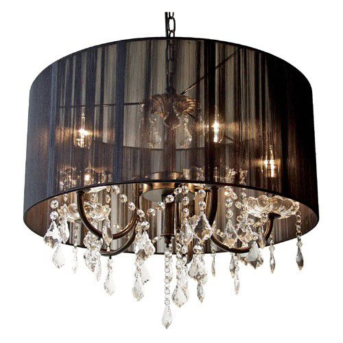Black and crystal clear french style lamp shade my dream bedroom black and crystal clear french style lamp shade aloadofball Image collections