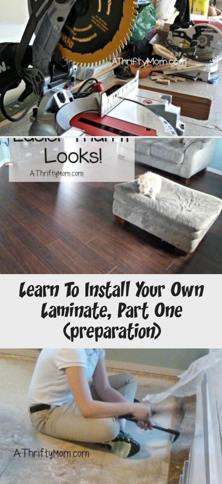 Learn To Install Your Own Laminate, Part One (preparation