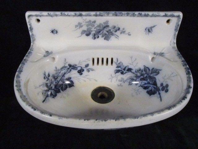 Kleines Waschbecken Villeroy Boch Motiv Brombeere Um 1920 Mas 048 In Antiquitaten Kunst Porzellan Kleines Waschbecken Waschbecken Villeroy