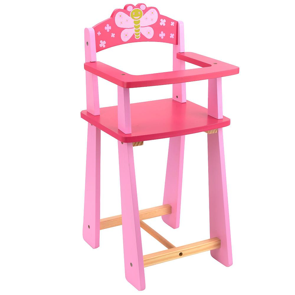 baby doll high chair toys r us small desk you me wooden highchair lex got the matching cradle for christmas